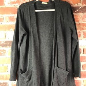 Chalet open front tunic size L